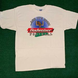 Vintage 90s Budweiser Football 1997 shirt